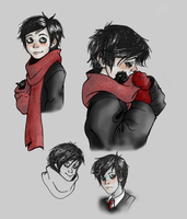 Edwin Sketches (old) by AugustRaes