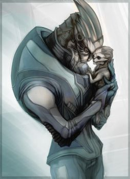 Garrus Vakarian Father by rinpoo-chuang
