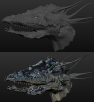 Splitjaw WIP nr.2 by Seitira