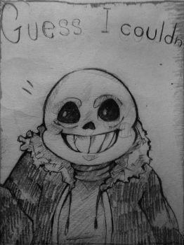 Sans the skelebro by FabuNeko19