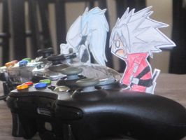 PCE:Paper BlazBlue: CHEATER by GloomyBunny