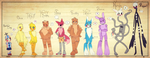 FNAF | Who's Taller? by Myebi