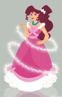 Megara as Cinderella by Paola-Tosca