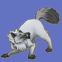 Wolf Mount by TintedGreen