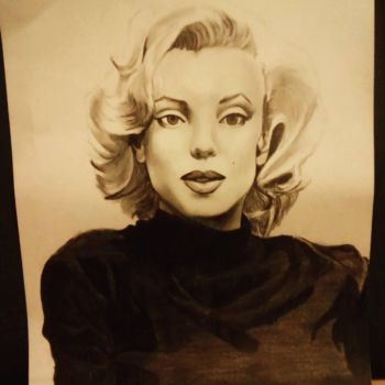 Marilyn Monroe by Mayalys