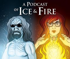 A Podcast of Ice and Fire - fanart by Azad-Injejikian