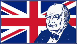 WINSTON SPENCER CHURCHILL by griffinpassant