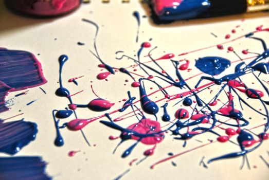 Paint Splatters by bismad