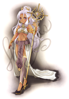 Elf Goddess - Auction Adopt. {CLOSED} by himebuns