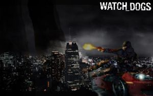 Watch Dogs Wallpaper by SuperNinjaMan97