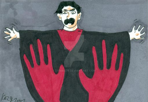 The Master from Manos The Hands Of Fate by dynakor