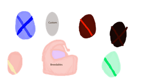Pony egg adopts+ breedables by WoefulWriters