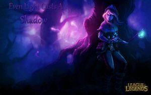 League of Legends- Spellthief Lux Wallpaper! by Atluss