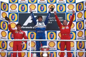 1995 San Marino Grand Prix Podium by F1-history
