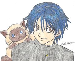 Ryoma and Karupin by Kateroy