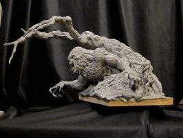Wrightson Swamp Thing UPDATE 3 by Blairsculpture