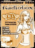 Radiobox flyer Not Julia by alfred183