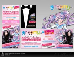 Groomy Inc Anime Poster and Banner by jsonn