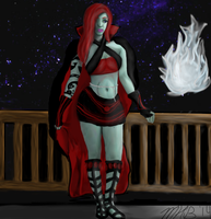 Leiia Pose #1(completed) by Adriast