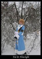 Fai Cosplay - wings of snow by Malindachan