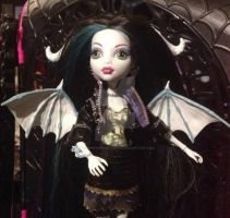 Cathy Lou Monster High Daughter of Cthulhu by ThePrincessNightmare