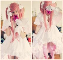 Goddess Madoka (Godoka) WIP by Cherry-Blossom-Bliss