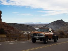 2014-1-11: Pickup in Hogbacks by indybird