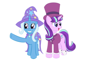 Glimglam and Trixie by Sethisto