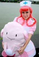 Nurse Joy (Pokemon) by Itakichan