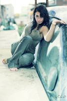 Cora - Car Wreck IV by ChrisK-photo