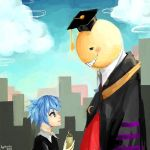 Nagisa and Korosensei by Byakurin
