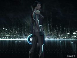 Tron Legacy's Quorra by hotrod5