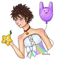 Sora cross dressing XD by starryglow