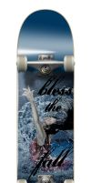Skateboard contest entry blessthefall: CoverBoard by Elf15