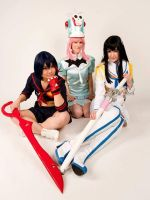 Kill La Kill Cuties by Cairdiuil