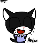 Arthur the cat gift by Mr-Evilness