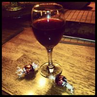 Wine and Chocolate by AllyCat1994