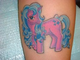 My Little Pony tattoo by lillylil