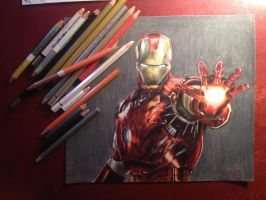 Iron Man by whosherlokid