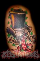 top hat by gil893tattoos