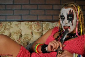 Sexy Juggalette Amillia 028 by MichaelGBrown