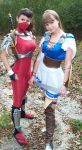 Taki and Sophitia by AlisaKiss