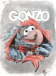 Gonzo Ripper by TreeBeerdy