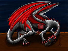 Dark Dragon by kristhasirah
