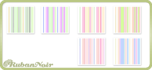 Pastel Rainbow Stripes Pattern by Lady-Himiko