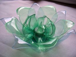 plastic bottles flower by tamas kanya by tom-tom1969