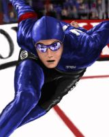 Speed Skater by fluidgeometry