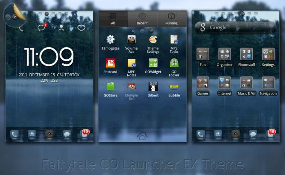 Fairytale for GO Launcher EX by ethsza