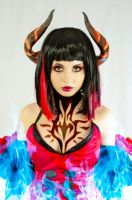 Eliza -Female Vampire II - Tekken Revolution by azulettecosplay