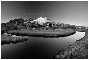Butte Tarn by Raymaker